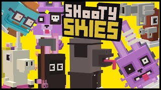 getlinkyoutube.com-SHOOTY SKIES All 7 Secret Characters Unlock | Hipster Whale, Drama Llama | NEW Halloween Update