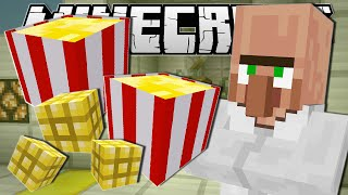 getlinkyoutube.com-Minecraft | MOVIE NIGHT SNACKS!! (Popcorn Machine) | Custom Command