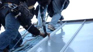 getlinkyoutube.com-STANDING SEAM METAL ROOF INSTALLATION