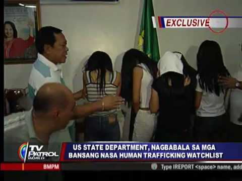 US warns Philippines: Act on human trafficking issue