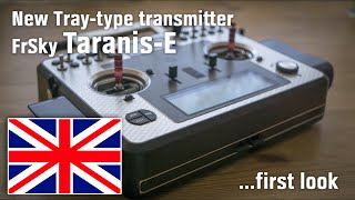 getlinkyoutube.com-New Tray-type transmitter FrSky Taranis-E - First look