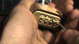 getlinkyoutube.com-Storm Lock Picking Tutorial 006 - Lock Pick 1E Hook Bypass Vs Master 175 Combination Padlock