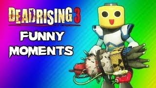 getlinkyoutube.com-Dead Rising 3 Funny Moments Gameplay 8 - Massive Bomb Nuke, Mega Man Suit, Final Boss Ending Fight