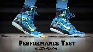 getlinkyoutube.com-Nike Kobe 9 Performance Test