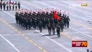 getlinkyoutube.com-1,000 foreign troops participate in China's military parade