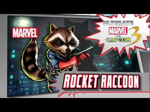 Rocket Raccoon Character Vignette - Ultimate Marvel vs. Capcom 3