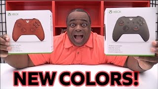 getlinkyoutube.com-NEW Xbox One Controllers UNBOXING! [THE COLORS!]