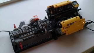 getlinkyoutube.com-LEGO GEARBOX sequential / tiptronic 6-speed!!