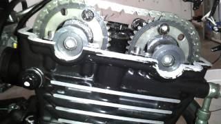getlinkyoutube.com-Kawasaki Ninja EX250 valve replacement part 4 of 4