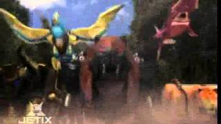 Power Rangers Wild Force - Animus Megazord Transformation