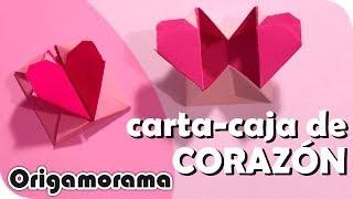 getlinkyoutube.com-Haz una CARTACAJA CORAZÓN!!! (#origamienamorados)