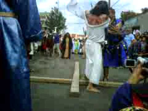 salida de jesus hacia la crucificcion judea tepexpan 2012.3GP