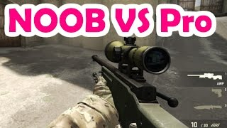 getlinkyoutube.com-CS:GO Noob vs Pro | 1 VS 1 AWP Only