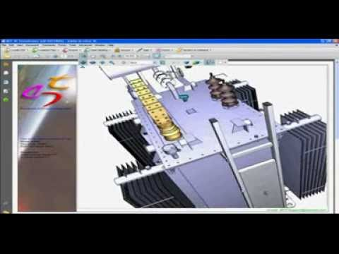 Low & Medium Voltage Transformer 3D Modeling and Designing Software