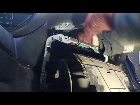 Замена моторчика отопителя Jaguar S-Type
