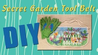 All-Star Designers Spring Series - Secret Garden Tool Belt