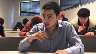 getlinkyoutube.com-Cuando el Profesor te mira en el Examen y te Haces el Reflexivo | Videos Pollo Castillo