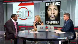 Ray Lewis: 'I live with Atlanta every day of my life' - SportsCenter (10-21-2015)