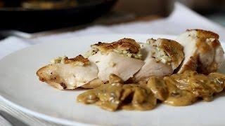 getlinkyoutube.com-Chicken with Creamy Mushroom Sauce Recipe