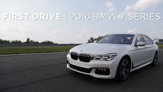 getlinkyoutube.com-First Drive   2016 BMW 7 Series   Driving.ca
