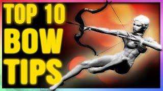 getlinkyoutube.com-Skyrim Remastered: TOP 10 Archer Build Tactics for Bows (Best Weapons Tips & Tricks To Know)!