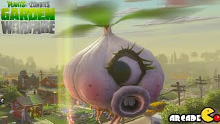 getlinkyoutube.com-Plants Vs. Zombies Garden Warfare: Crazy Garlic Drone Defend Mega Flower