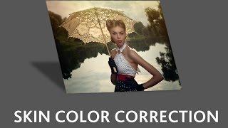 getlinkyoutube.com-Коррекция SKINTONE в photoshop или меняем цвет кожи одним махом!