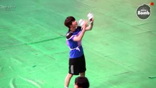 [BANGTAN BOMB] Cheerleader Jin With ARMY Bomb ─○