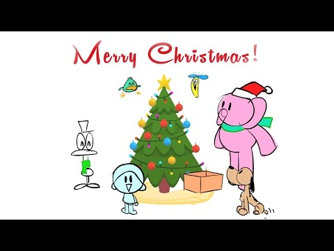 How is Pocoyo made?: Let's decorate the Christmas tree!  (3/3)