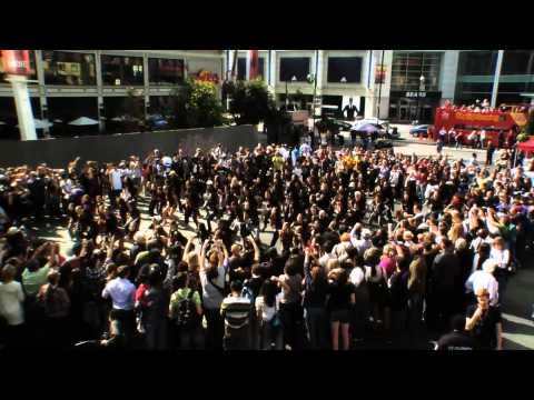 Hip Hop Flashmob 2011 @ Yonge & Dundas Square (Official Video)