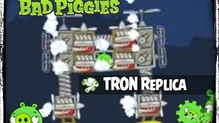 getlinkyoutube.com-Bad Piggies Tron Recognizer Replica by PIGineering