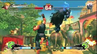 getlinkyoutube.com-Dashie VS. Nightmare: Street Fighter IV ASS WHOOPIN!