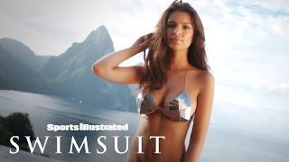 getlinkyoutube.com-Sexy Emily Ratajkowski Photo Shoot | Sports Illustrated Swimsuit
