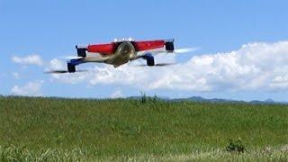 JR PROPO NINJA 400MR - First flight -(2015/05/30)