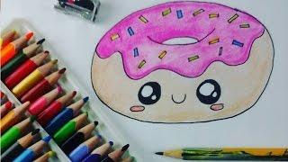 getlinkyoutube.com-Dibuja una Donita Kawaii Facil Dibujin Dibujado