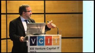 Intervenção de Rogério Gaspar no XIII Venture Capital IT