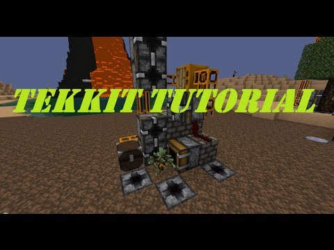 The best fully automated tree OR rubber tree farm ( Minecraft / Technic / Tekkit / Redpower )