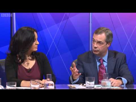 BBC ONE Question Time - including UKIP Leader Nigel Farage - 18.01.13
