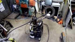 getlinkyoutube.com-Home Built High Pressure Air Compressor Overview