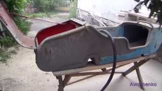 getlinkyoutube.com-Пескоструйная очистка мотоцикла M 72