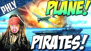 PLANE PIRATES! AIRCRAFT CARRIER TAKEOVER! ( War Thunder Gameplay)