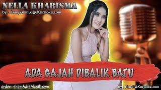 ADA GAJAH DIBALIK BATU -  NELLA KHARISMA karaoke tanpa vokal