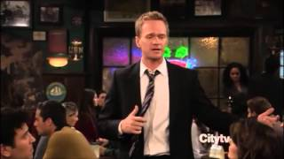 getlinkyoutube.com-Barney Stinson - Challenge Accepted Compilation from How I Met Your Mother