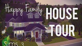 getlinkyoutube.com-House Tour: Sims 3 - (Happy Family)
