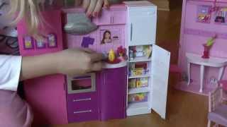 getlinkyoutube.com-Ogromny Domek Barbie + 40 elementów + 2 lalki = Recenzja Wiki