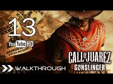 Call of Juarez: Gunslinger - Walkthrough Part 13 (Without Forgiveness) Reed Bosss Battle