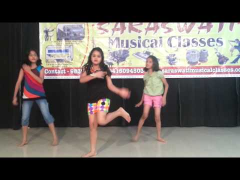 SARASWATI MUSICAL CLASSES (SMC) LKO STUDENT MAITRI;ADITI & PEARL PERFORMED DANCE IN ASHIYANA BRANCH