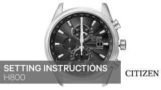 getlinkyoutube.com-CITIZEN H800 Setting Instruction
