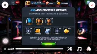 getlinkyoutube.com-Contest Of Champions 500+ Arena Crystals 5 NEW 4*