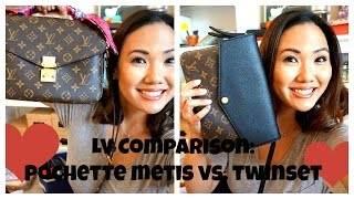 getlinkyoutube.com-LV Comparison:  Pochette Metis vs. Twinset